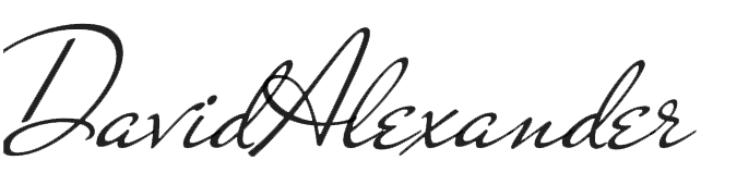 Signature of David B. Alexander
